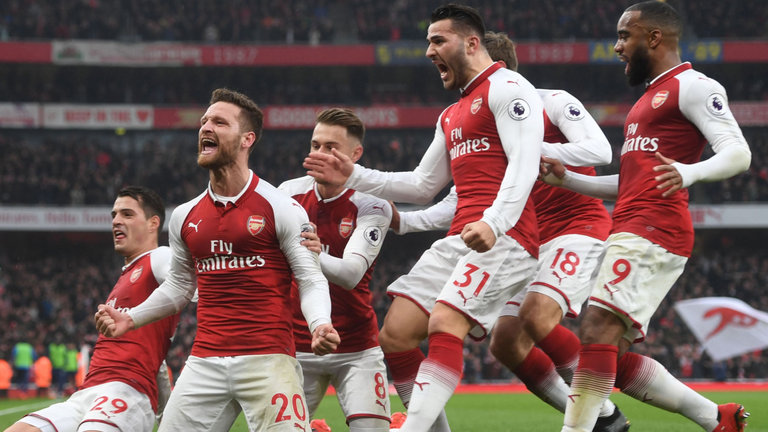 Everton Di Permalukan Arsenal 5 - 1